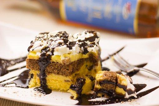 Dessert, Cake, Hungarian, Pudding, Cream, Chocolate