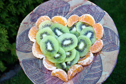 Heart, Kiwi, Valentine's Day, February, 14, Romance