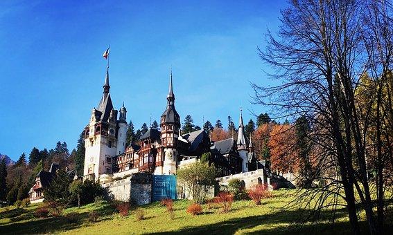 Castle, Romania, Transylvania, Carpathian Mountains