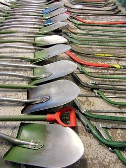 Shovel, Saw, Tool