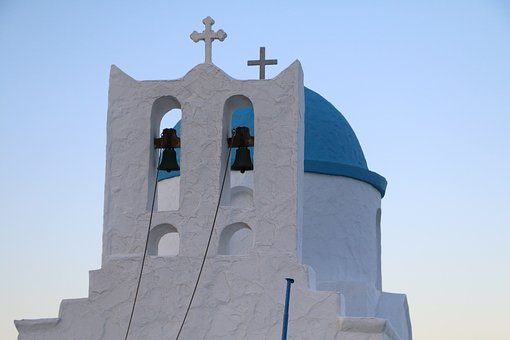 Church, Greece, Sifnos, Blue, White, Orthodox
