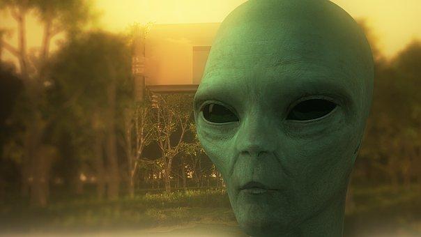Stranger, Alien, 3d Model, Ufo