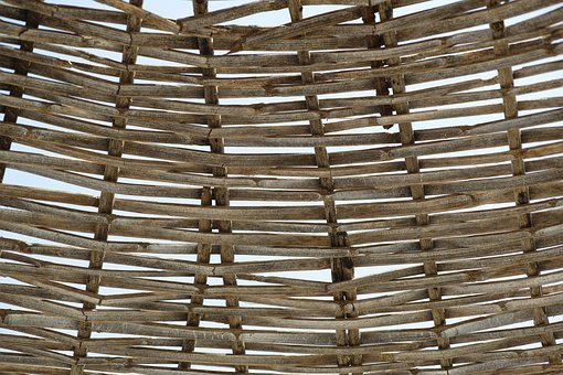 Wire Mesh, Brown, Abstract, Sun Visor, Wood, Design
