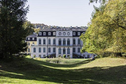 Castle, Wilhelmsthal, Garden, Park, Residence