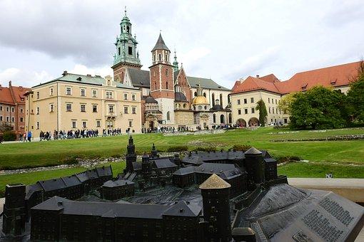 Kraków, Wawel, Monument, Architecture, Landscape