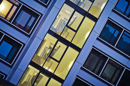 Architecture, Window, Facade, Building, Glass, Modern
