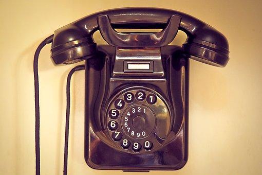 Phone, Old, Telephone Handset, Bakelite, Nostalgia