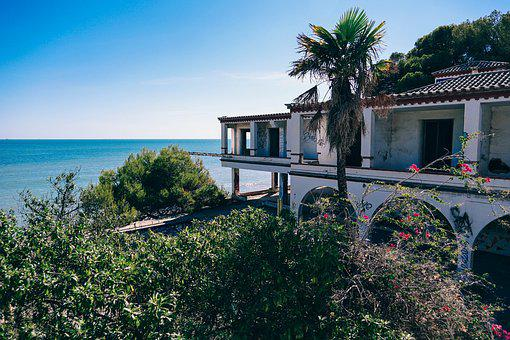 Architecture, Beach, Blue, Coast, Coastline, Day
