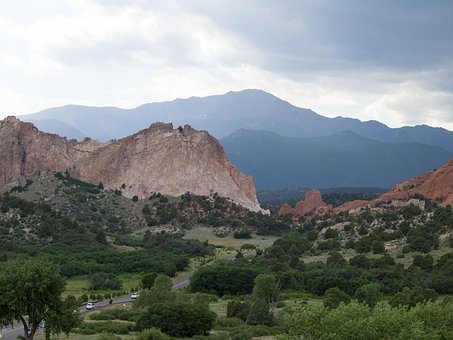 Garden Of The Gods, Colorado, Mountains, Redrock