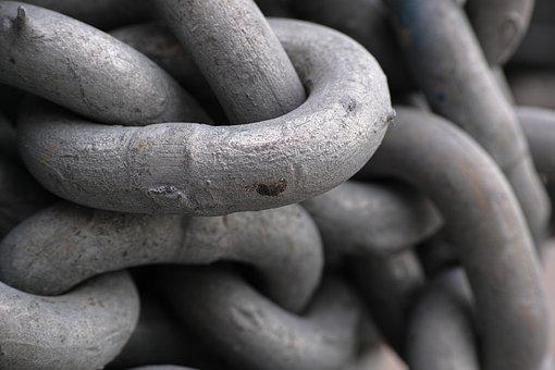 Chain, Daniel, Old, Solid, Metal, Heavy, Connect, Rope