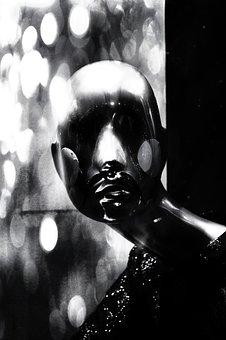 Pop, Surreal, Spooky, Dark, Black White, Artistic, Art