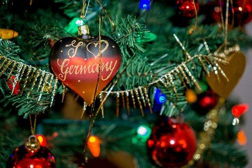 Christmas, Holidays, Heart, Germany, Xmas, Decoration