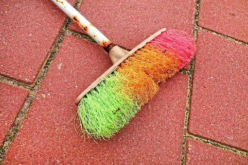 Broom, Sweeping, Dust, Cleaning, Tool, Housework