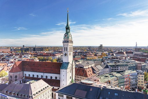 Munich, Frauenkirche, Bavaria, State Capital, Church