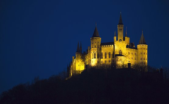 Castle, Hohenzollern, Hohenzollern Castle, Fortress