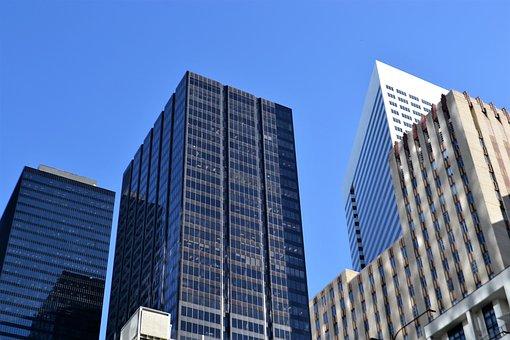 Buildings, Houston, Texas, Cityscape, Skyscraper