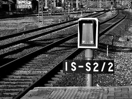 Train, Rail, Iron, Rails, Via, Trains, Old, By Train