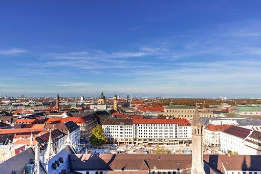Munich, Frauenkirche, Bavaria, State Capital, Church