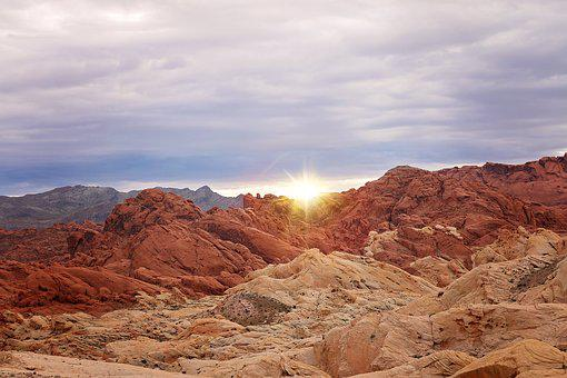 Valley Of Fire, Las Vegas, Nevada, Sandstone, Nature