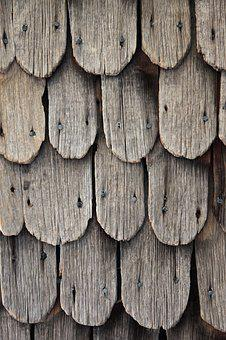 Wood Shingles, Shingle, Old, Structure