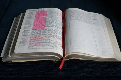 Bible, Open, Book, Religion, Holy, Open Bible, Page