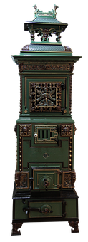 Oven, Enamel, Enamelled, Ornaments, Painted, Ornament