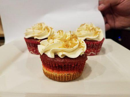Cupcake, Red Velvet, Cupcakes