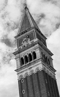 Venice, Church, St Mark's Basilica, Steeple