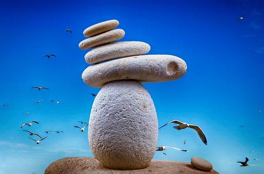 Stone, Zen, Peace, Balance, Therapy, Stack, Meditation