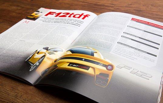 Car, Magazine, Print, Motor, Automobile, Vehicle