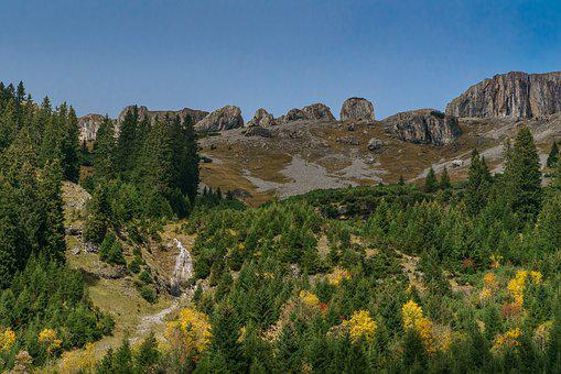 Kleinwalsertal, Ifen, Allgäu, High Mountains, Alpine
