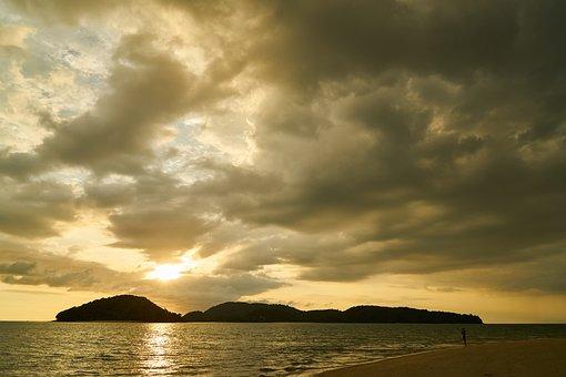 Ada, Beach, Solar, Clouds, Marine, Sky, Peace, Nature