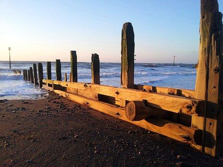 Beach, Teignmouth, Devon, Uk, Sea, Coastal, Sand, Water