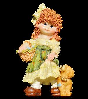 Girl, Doll, Figure, Decoration, Sculpture, Cute