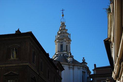 Sant'ivo Alla Sapienza, Francesco Borromini, Church
