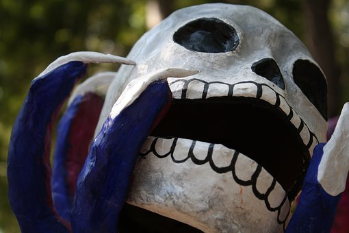 Dead, Skull, Day Of The Dead, Halloween, Mexico, Death