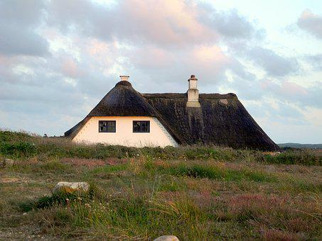 Thatched Roof, Home, Reed, Thatched, Roof, Holiday