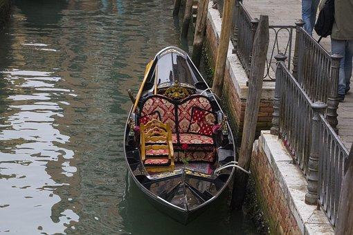 Italy, Venice, Gondola, Water, Gondolas, Boats, Holiday