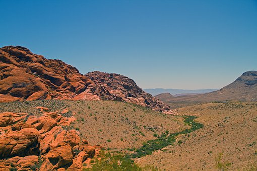 Red Rock Canyon, Las Vegas, Nevada, Scenic, Rocks, Red