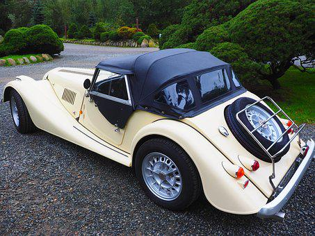 Morgan Plus 8, Auto, Vehicle, Oldtimer, Nostalgic