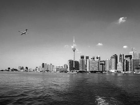 Toronto, City, View, Canada, Ontario, Scenery