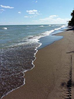 Beach, Water, Sand, Point Pelee National Park, Ontario