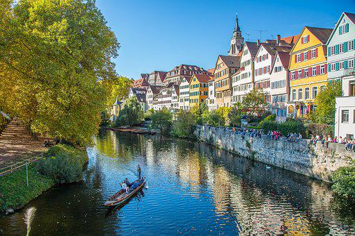 Tübingen, Poke Kahn, Kahn, Hölderlin Tower, Hölderlin