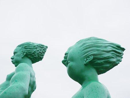 Aliens, Personal, Artwork, Green, Art, Sculpture