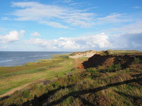 Morsum-kliff, Cliff, Cliffs, Sylt, Morsum