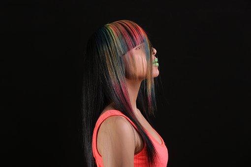 Color, Fluorescent, Trick, Hair Salons, School