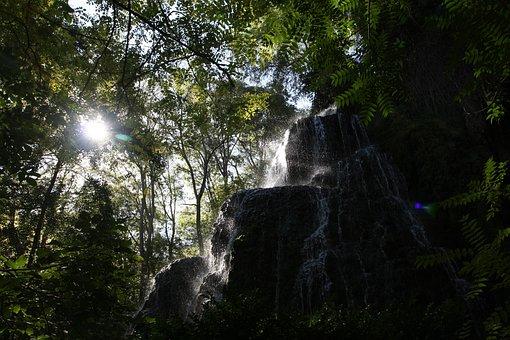 River, Stone, Water, Nature, Waterfall, Ribera