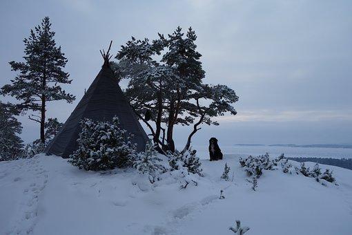 Winter, Tourism, Tipi, Needle, Wigwam, Yaranga, Ladoga