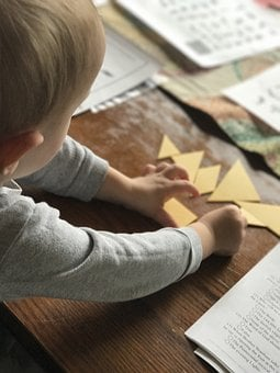 Baby, Tangram, Puzzle, Child, Mathematics, Education