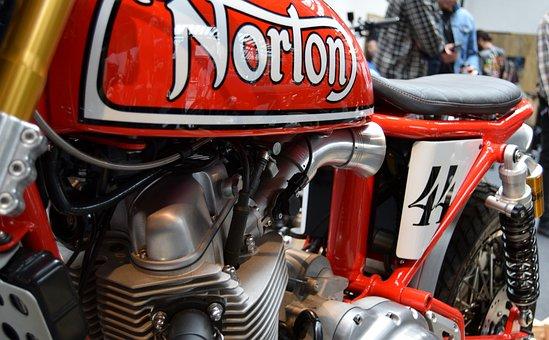 Bike, Norton, Custom, Motorcycle, Motorbike